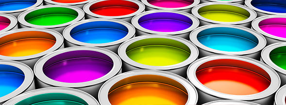 На фото изображена краска для шелкографии