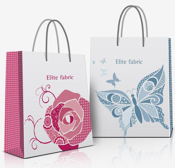 Дизайн пакетов с логотипом