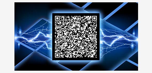 Дизайн визитки с QR кодом