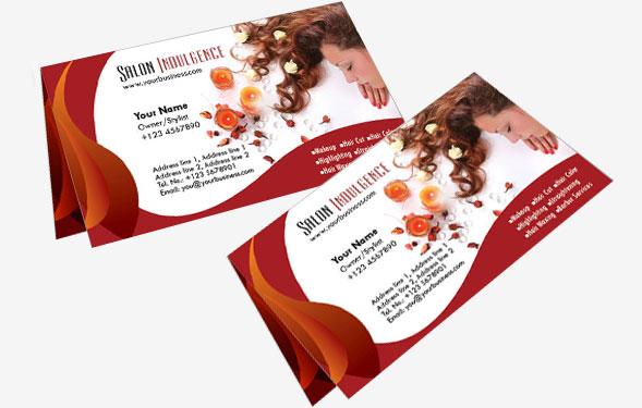 Дизайн двойных визиток
