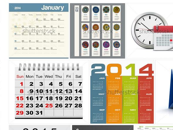 Шаблоны календаря для печати