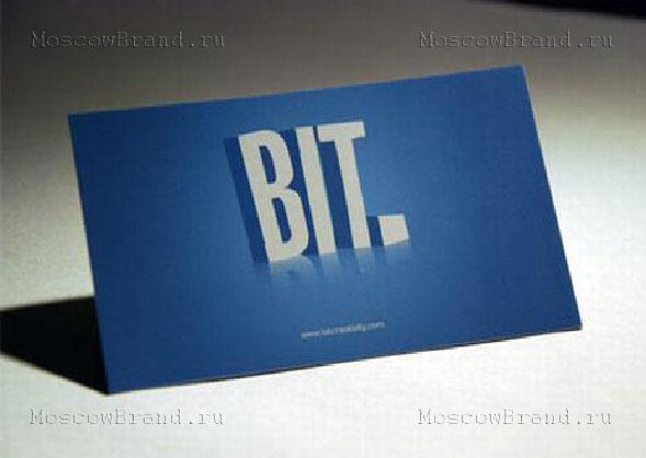 Создаем креативную визитку