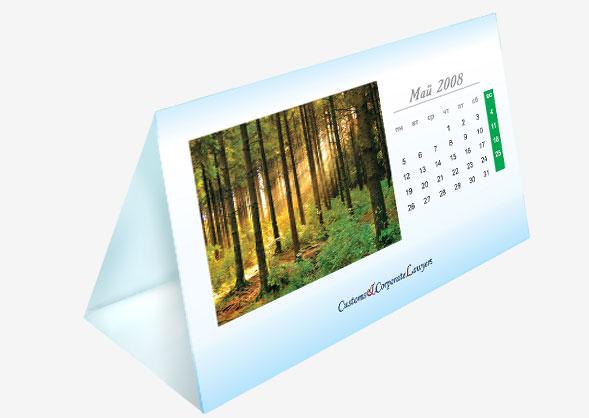 фото настольный календарь домик