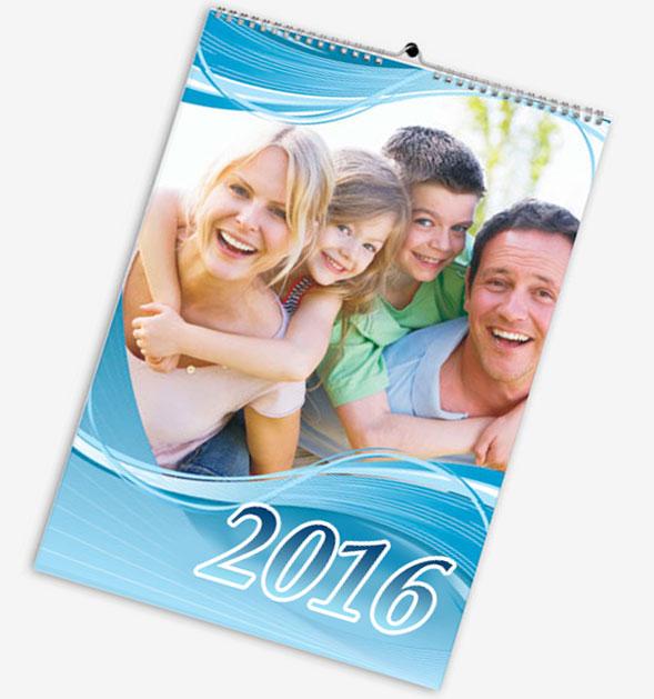 фото обложка семейного фотокалендаря