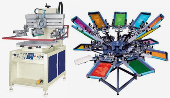 оборудование для шелкографии, трафаретной печати