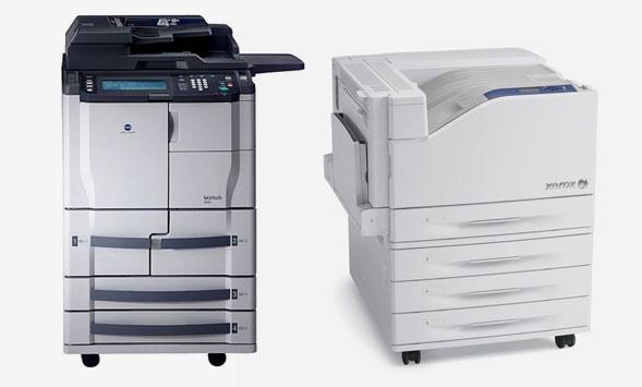 два принтера