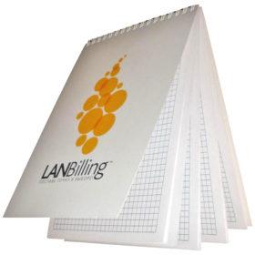Блокнот с логотипом