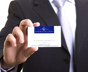 Дизайн корпоративных визиток