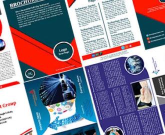 Взрывной дизайн брошюр