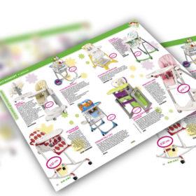 дизайн каталога для малышей