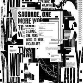 Черно белый дизайн плаката