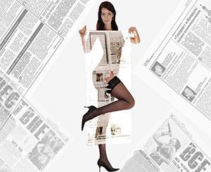 Мощность редизайна газет