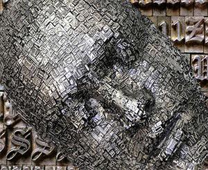 Абстрактное изображение шрифтов