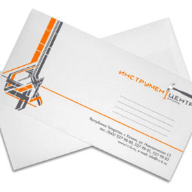 Печать фирменного маркированного конверта