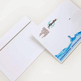 Печать евро конверта