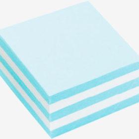 кубарик из бумаги разного цвета