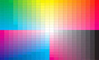 Дизайн цветного логотипа