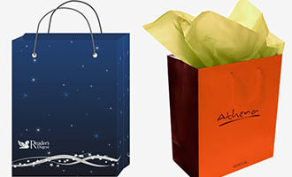 Дизайн подарочных пакетов