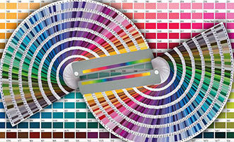Сопоставление цветов Pantone и CMYK