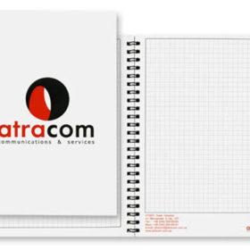 Изготовление блокнота с логотипом