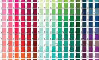 Идентичные цвета Pantone