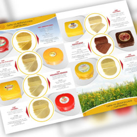 Дизайн каталога сыров