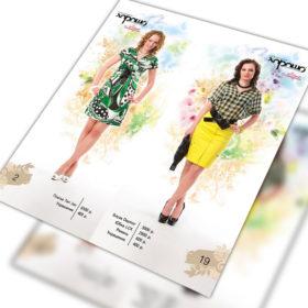 Создание каталога для модной одежды