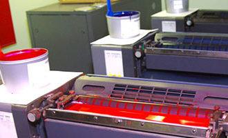 Процесс офсетной печати (подробно)