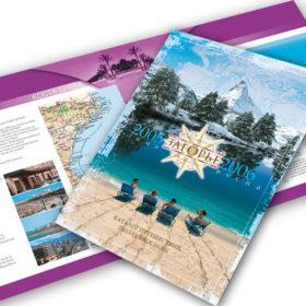 Дизайн каталога туристической фирмы