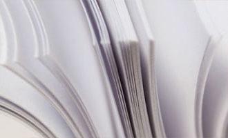Стандартная бумага для полиграфии