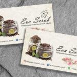 Дизайн визитки, косметика ручной работы