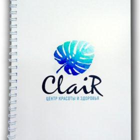 Дизайн обложки блокнота
