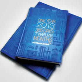 Дизайн обложки ежедневника с тиснением фольгой и конгревом