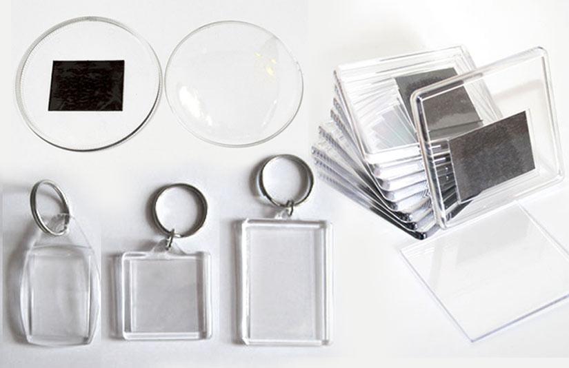Акриловые заготовки для печати магнитиков