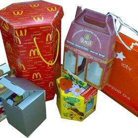 Изготовление праздничной упаковки