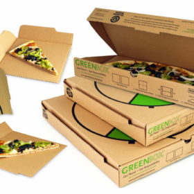 Картонная упаковка для пиццы