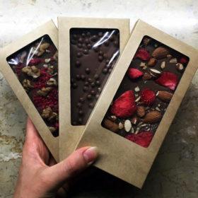 Картонная упаковка для шоколада
