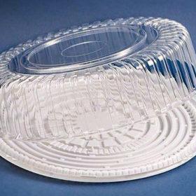Пластиковая упаковка под торт