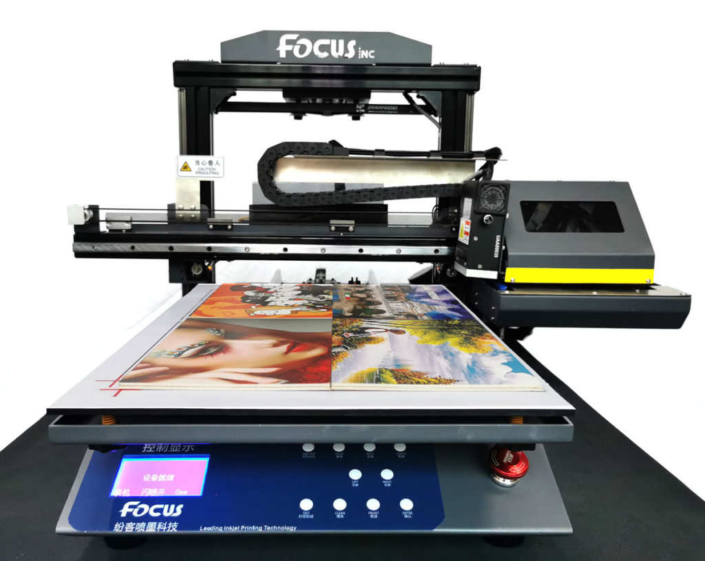 A3 светодиодный УФ планшетный принтер можно использовать дома.