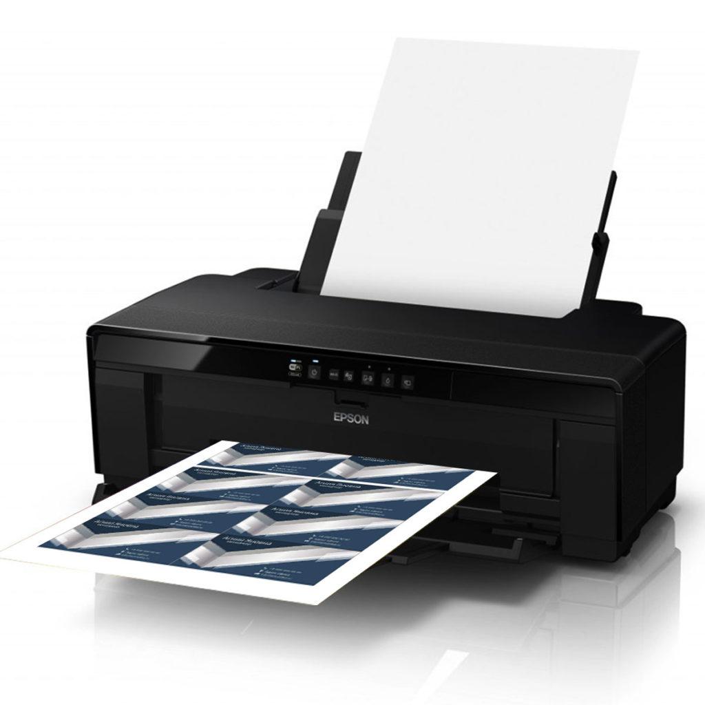 Струйный принтер без СНПЧ.
