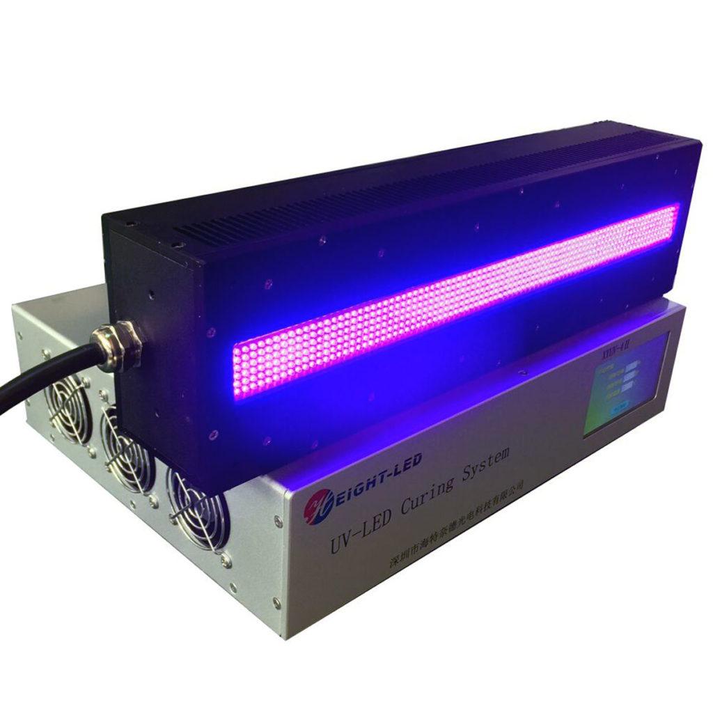 Ультрафиолетовая лампа от уф принтера.