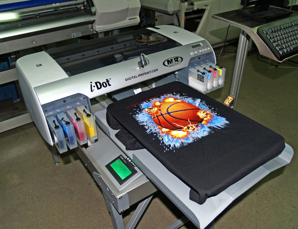 УФ принтер планшетный.