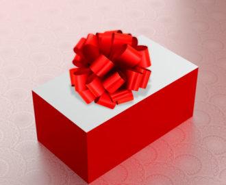 Визитки в подарочной упаковке.