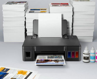 Печать тиража на домашнем принтере.