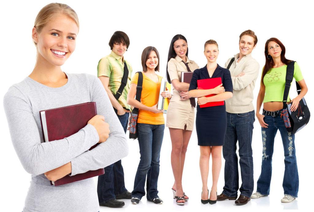 Студенты для подработки промоутером.