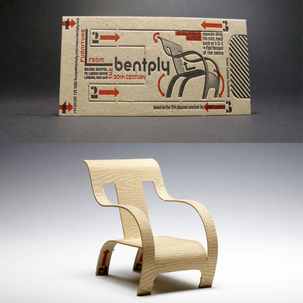 Визитка стул