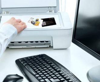 Сканирование визиток