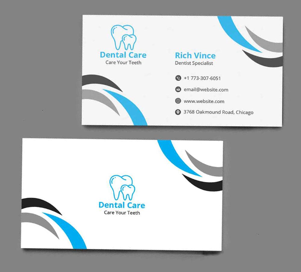 Визитки стоматолога