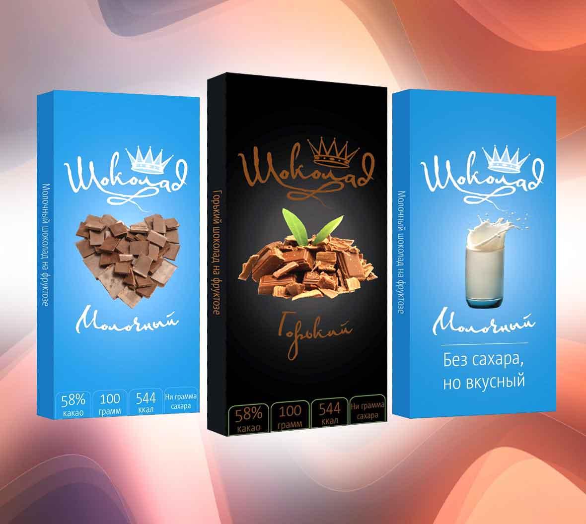 Дизайн и печать этикеток для шоколадок
